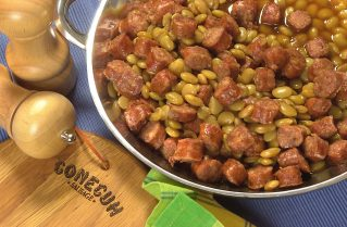 Beans and Conecuh Sausage