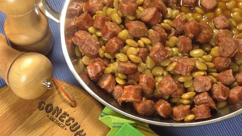 Lima Beans and Sausage Hi Res