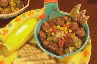 Conecuh Sausage Vegetable Gumbo