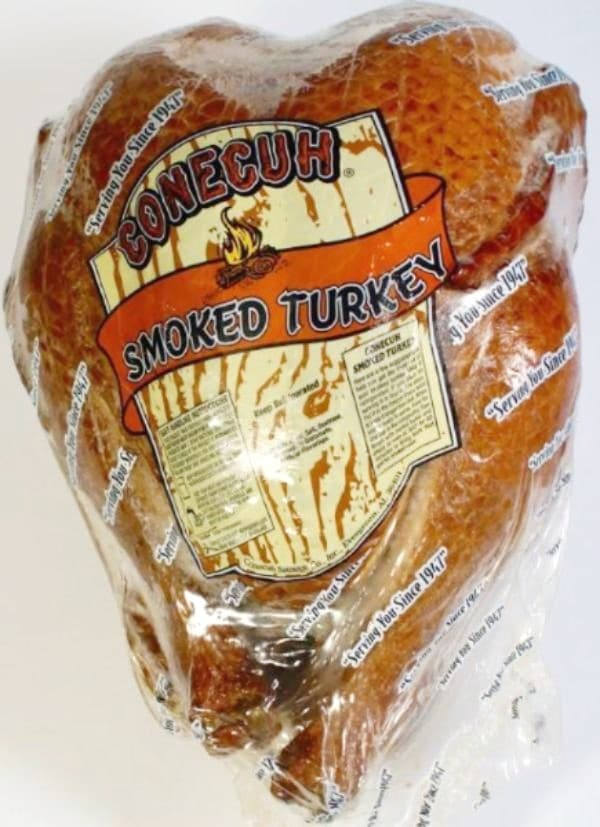 Conecuh Smoked Turkey in Packaging