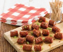 Sweet and Sour Conecuh Sausage