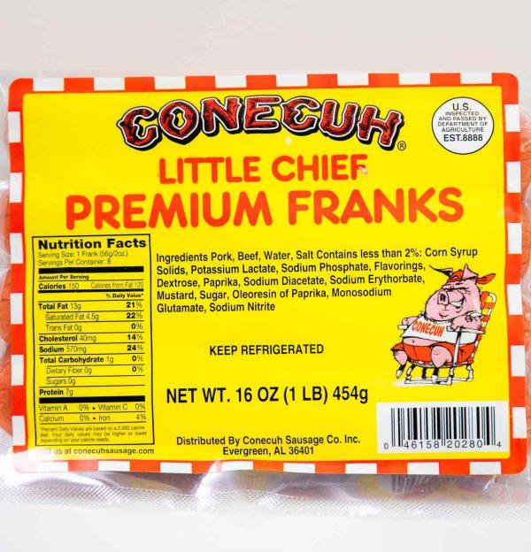 Conecuh Little Chief Premium Franks