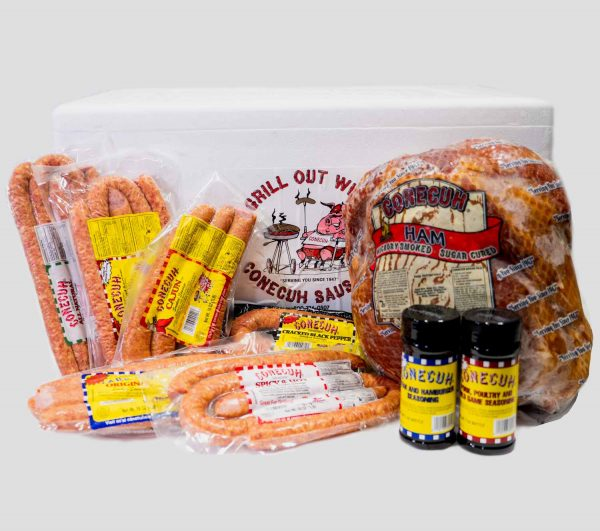 Conecuh Sausage and Ham Gift Box