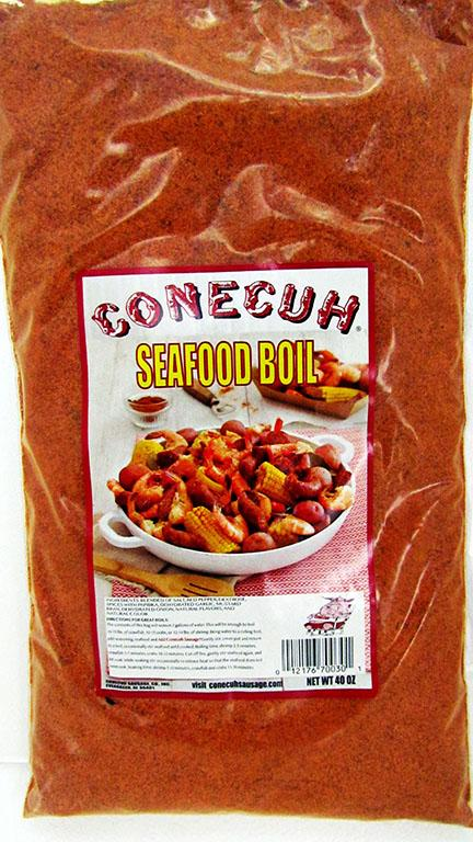 Conecuh Seafood Boil