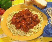 Conecuh Sausage & Spaghetti