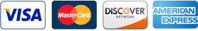 Payment Methods Visa Mastercard Discover American Express