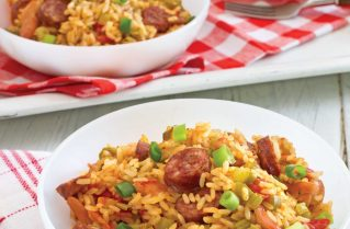 Conecuh Sausage and Chicken Jambalaya