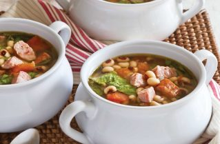 New Year's Soup with Conecuh Sausage